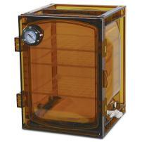 Bel-Art Lab Companion Amber Polycarbonate Cabinet Style Vacuum Desiccator; 45 Liter (F42400-4131)