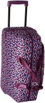 Vera Bradley Women's Lighten Up Wheeled Carry-On Rolling Suitcase