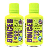 BUICED Liquid Daily Multivitamin 32 Day Supply   Gluten Free   GMO Free   Allergen Free   Soy Free   BPA Free   Paleo Friendly Multivitamin   Vegan Friendly Multivitamin   100% Daily Value