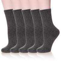 DoSmart 5 Pairs Women's Super Thick Soft Comfortable Warm Winter Wool Socks