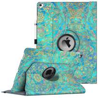 Fintie Rotating Case for iPad Pro 12.9 (2nd Gen) 2017 / iPad Pro 12.9 (1st Gen) 2015-360 Degree Rotating Stand Case with Smart Protective Cover Auto Sleep/Wake, Shades of Blue