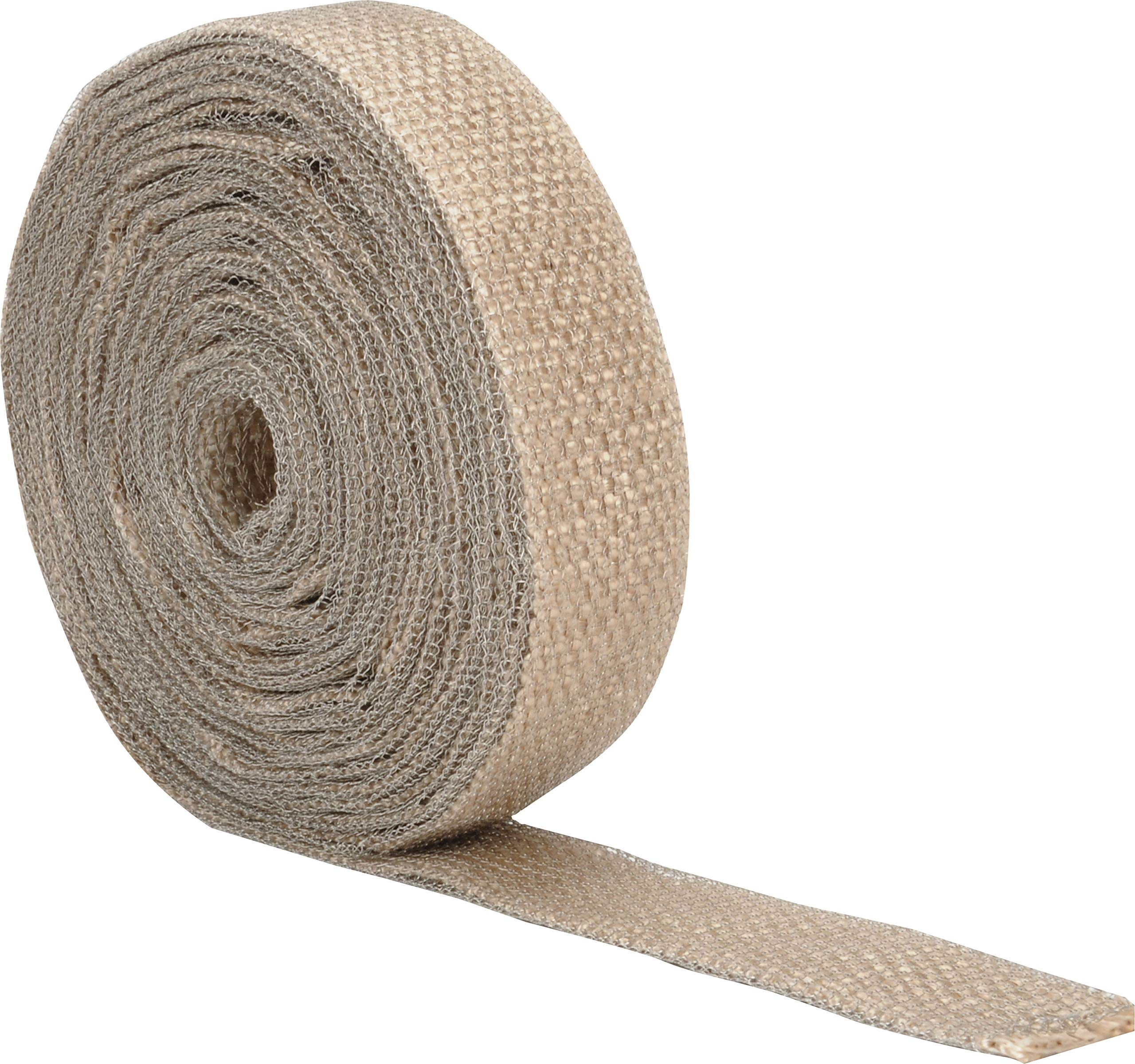 """Design Engineering 010076 EXO Series Exhaust and Pipe Wrap, 1.5"""" x 20' - Tan"""