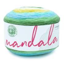 Lion Brand Yarn 525-229 Mandala Yarn, Elf