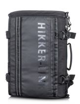 H HIKKER-LINK Mens Laptop Backpack Convertible Shoulder Bag Travel Daypack Black