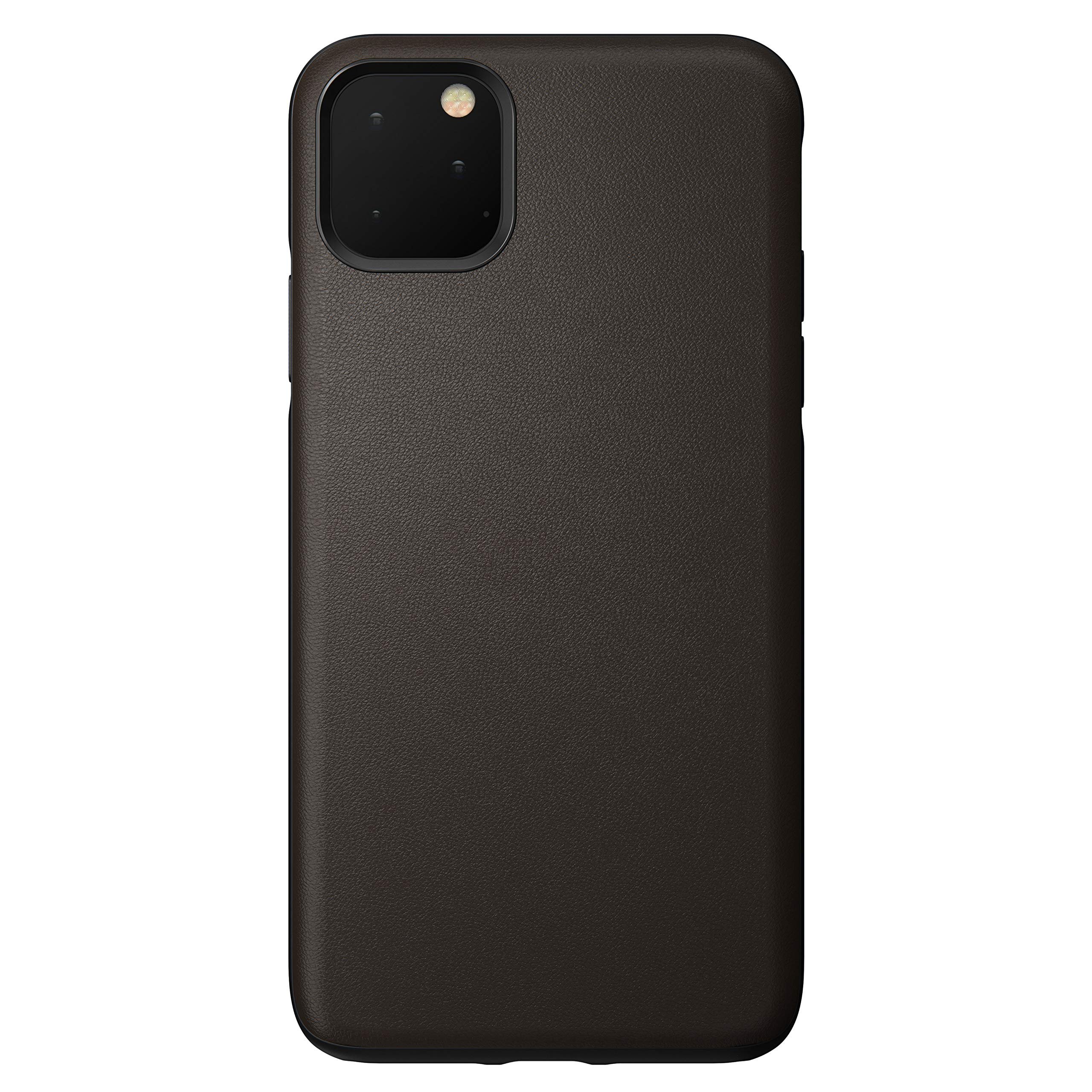 Nomad Rugged Case for iPhone 11 Pro Max | Mocha Brown Heinen Active Leather