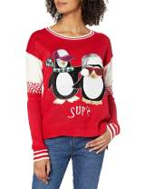 Blizzard Bay Juniors Penguin with Tie Tunic Christmas Sweater