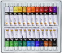 Royal & Langnickel GOU24 Gouache Color Artist Tube Paint, 12ml, 24-Pack, 12, 24 Pack