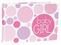 Malden International Designs Baby Girl Brag Book, 1-Up, 40-4x6, White