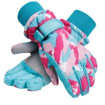 Galexia Zero Kids Winter Gloves Waterproof Snow Ski Gloves