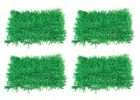 "Beistle S57161AZ2, 4 Piece Tissue Grass Mats, 15"" x 30"" (Green)"
