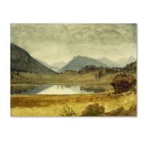 Wind River Country Artwork by Albert Bierstadt, 35 by 47-Inch Canvas Wall Art