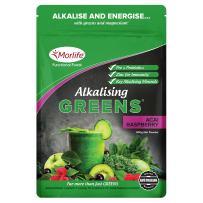 Super Greens - Acai Rasberry 300g   Alkalizing Vegan Green Powder Superfood Supplements   Prebiotics and Probiotics   21 Greens Superfoods   Green Juice Supplement   Greens Supplement Powder