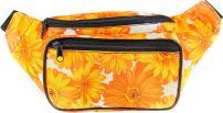 SoJourner Sunflower Floral Fanny Pack - Cute Packs for men, women festivals raves | Waist Bag Fashion Belt Bags
