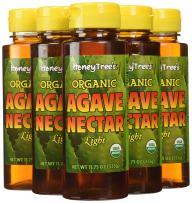 HoneyTree's Organic Agave Nectar-Light, 11.75-Ounce (Pack of 6)