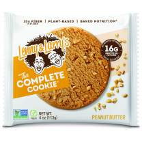 Lenny & Larry's The Complete Cookie, Peanut Butter, 4 oz (Pack of 12) Soft Baked