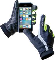 GearTOP Running Gloves for Men and Women, Lightweight Outdoor Sports Touchscreen Gloves, Multi-Purpose Reflective Gloves for Cycling, Biking, Driving & for All Weather Conditions