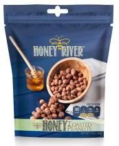 Honey River Honey Toasted Peanuts, (3 Ounce)
