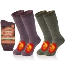Bun Large Warm Thermal Socks Unisex Winter Insulated Thick Heavy Crew Socks