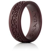 KAUAI - Silicone Wedding Rings for Men Timeless Elegance Ring Collection. Leading Brand, from Leading Brand, from The Latest Artist Design Innovations to Leading-Edge Comfort