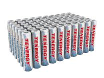 Tenergy Premium Rechargeable AAA Batteries, High Capacity 1000mAh NiMH AAA Batteries, AAA Cell Battery, 60-Pack
