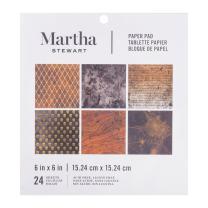 Martha Stewart 6 x 6 Paper Pad Halloween Traditional