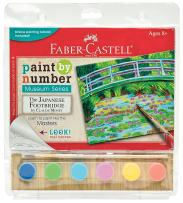 Faber-Castell Paint by Number Museum Series – The Japanese Footbridge by Claude Monet