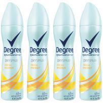Degree Antiperspirant Deodorant Dry Spray, Fresh Energy, 3.8 oz, 4 count
