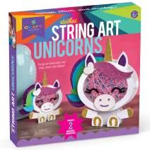 Craft-tastic – Stacked String Art Unicorns – Craft Kit Makes 2 Magical Unicorns