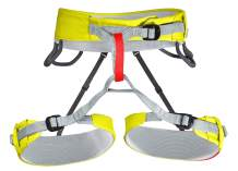 Tendon Storm Climbing Harness (XS - XL) - CE Certified Rock Climbing Belt with Adjustable Leg Straps - Lightweight Rappelling Harness for Men & Women - Unisex Waist Safety Harness for Sport Climbing