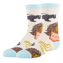 Oooh Yeah Kids Crazy Funny Silly Novelty Crew Cotton Socks
