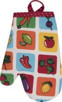 Handstand Kitchen Child's 100% Cotton 'Farmers Market' Oven Mitt