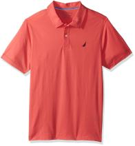Nautica Boys' Soft Stretch Solid Polo