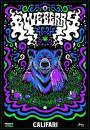 Califari Blueberry Strain UV Screen Print 18 x 24, Signed & Numbered by Artist, Vivid Color Wall Art, Poster, Decor for a Home, Dispensary, or Smoke Shop