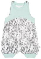 Finn + Emma One-Piece Organic Cotton Romper for Baby Boy or Girl – Arrows, 6-9 Months