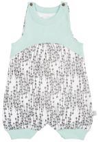 Finn + Emma One-Piece Organic Cotton Romper for Baby Boy or Girl – Arrows, 0-3 Months