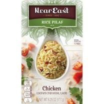 Near East Rice Pilaf Mix, Chicken, 6.25oz Box