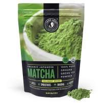 Jade Leaf Matcha Green Tea Powder - Organic, Authentic Japanese Origin - Culinary Grade - Premium 2nd Harvest [8.8oz]