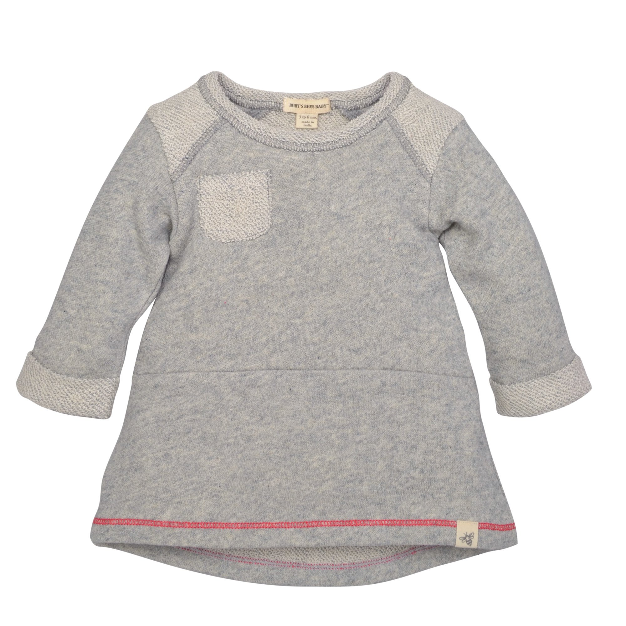 Burt's Bees Baby - Baby Girl's Dress, Infant & Toddler, Short & Long-Sleeve, 100% Organic Cotton