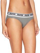 Starter Women's Logo Waistband Stretch Cotton Bikini Panty, Amazon Exclusive