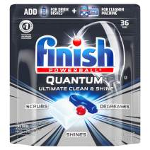 Finish Quantum Max Powerball, 36ct, Dishwasher Detergent Tablets, Ultimate Clean & Shine