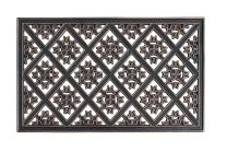 A1 Home Collections A1HCLH88 Applique Pattern, 100% Rubber Doormat for Indoor/Outdoor Use