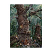 Gnomes Sweet Home by Jeff Tift, 18x24-Inch