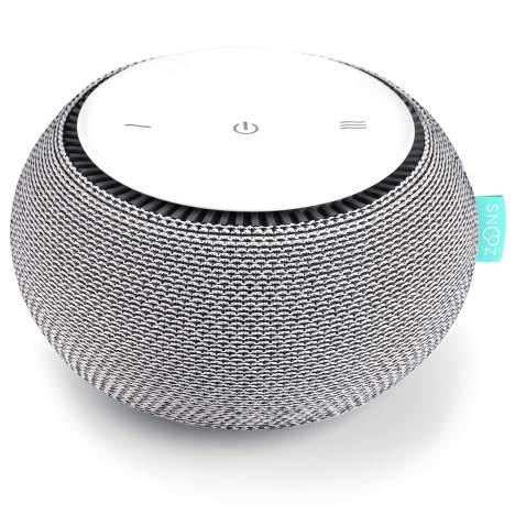 SNOOZ White Noise Sound Machine - Real Fan Inside for Non-Looping White Noise Sounds - App-Based Remote Control, Sleep Timer,...