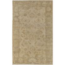 Surya AIN-1017 Hand Knotted Classic Accent Rug, 2-Feet by 3-Feet
