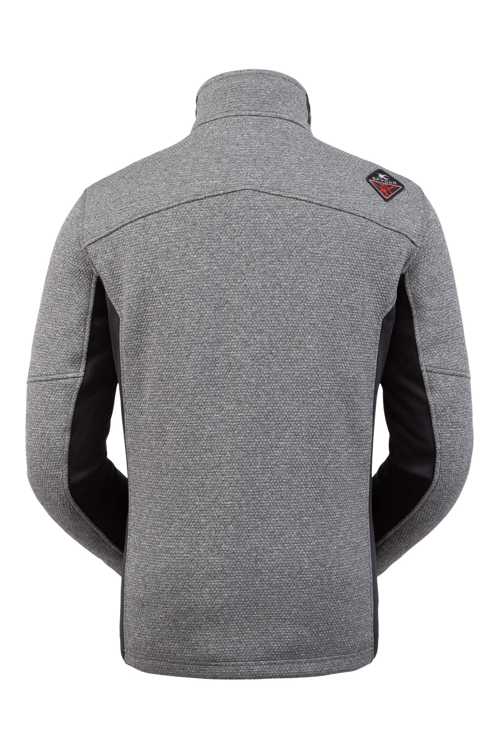 Spyder Men's Wengen Encore Fleece Jacket – Full Zip Sweater
