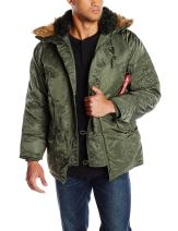 Alpha Industries Men's N-3B Parka Coat