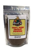 Bud's Cricket Protein Powder - 100% Pure Cricket Powder, Gluten-Free, Dairy-Free, High Protein Flour Substitute Excellent Source of Vitamin B12, Omega-3, Fiber, Amino Acids, Calcium & Iron (1/2 LB)
