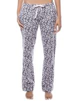 Noble Mount Twin Boat Womens 100% Cotton Flannel Lounge Pants with Pockets & Drawstring