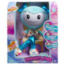 """Brightlings, Interactive Singing, Talking 15"""" Plush, Teal, by Spin Master"""