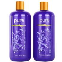Ultra Volumizing, Growth Stimulating Organic Castor Oil Shampoo and Conditioner Set. Huge 26.5 oz Shampoo Conditioner Combination Pack to Strengthen, Grow and Restore.